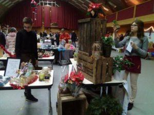 Le lycée présent au marché de Noël de Brette-Les-Pins